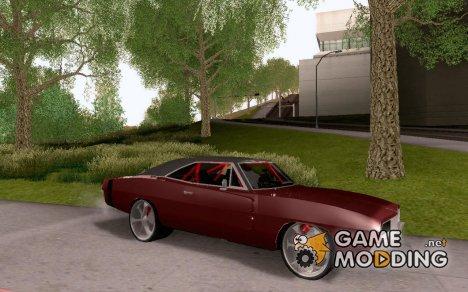'69 Dodge Charger R/T для GTA San Andreas