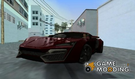 W Motors Lykan HyperSport for GTA Vice City