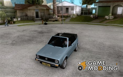 Volkswagen Golf MK1 Cabrio for GTA San Andreas