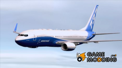 Boeing 737-800 Boeing House Colors для GTA San Andreas