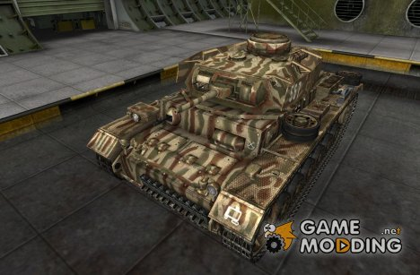 Ремоделинг для танка PzKpfw III for World of Tanks