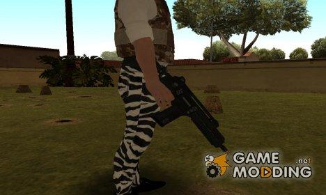 G36k from GTA V для GTA San Andreas