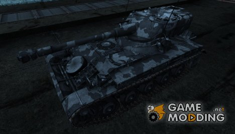Шкурка для AMX 13 75 №16 for World of Tanks