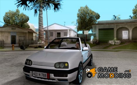 Volkswagen Golf MkIII Cabrio Custom 1995 for GTA San Andreas