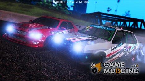ВАЗ-21099 «Terminal Motorsport» for GTA San Andreas