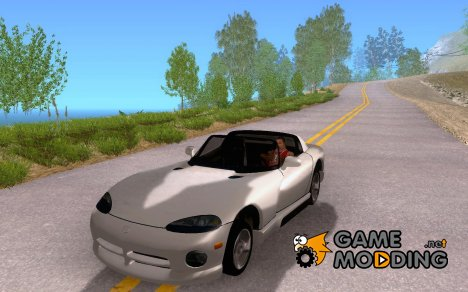 Dodge Viper 1992 for GTA San Andreas