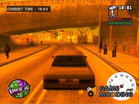 Speedometer для GTA San Andreas