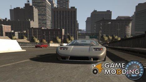 Спидометр IV (Скин 6) for GTA 4