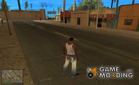 GTA V текстуры для GTA San Andreas