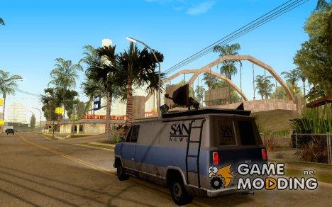Вращающиеся элементы транспорта for GTA San Andreas