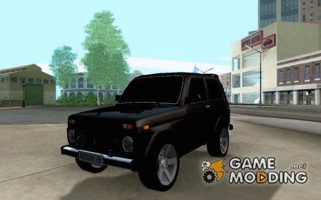 ВАЗ 21213 НИВА FBI for GTA San Andreas
