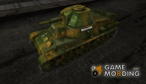 Шкурка для PzKpfw 38H735(f) for World of Tanks