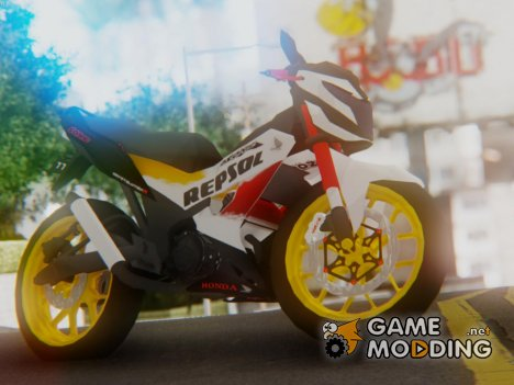 Honda Sonic 150R AntiCacing for GTA San Andreas