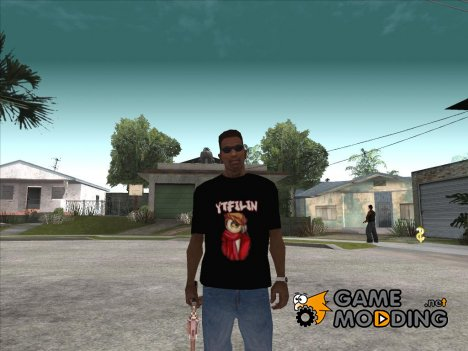 Футболка YTFILIN for GTA San Andreas