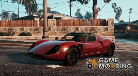Alfa Romeo Stradale 33 for GTA 5