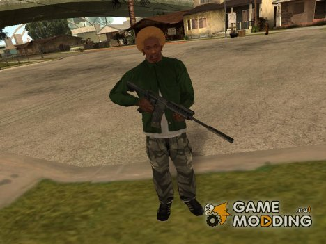 M4A1 из Call of duty 4: Modern Warfare for GTA San Andreas
