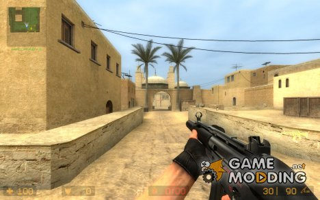 MP5Lasered(TS anims) для Counter-Strike Source