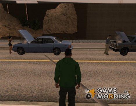 Починка авто как в Mafia 2 v1.3 for GTA San Andreas