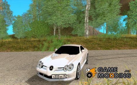Mercedes-Benz SLR McLaren for GTA San Andreas