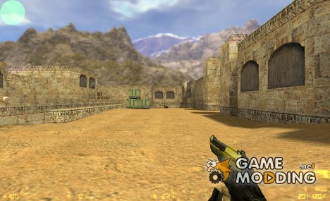 Armael's Gold Elite for Glock для Counter-Strike 1.6