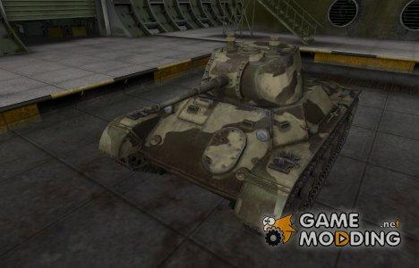 Пустынный скин для Т-127 для World of Tanks
