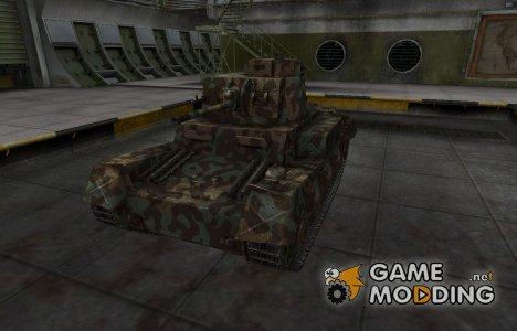 Горный камуфляж для PzKpfw 38 n.A. for World of Tanks