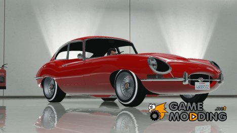 Jaguar E-Type Stock FINAL для GTA 5