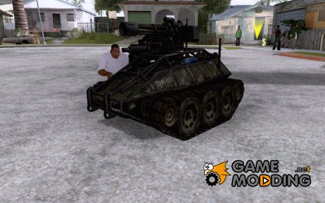 Unmanned Ground Vehicle for GTA San Andreas