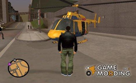 Helitours Maverick (GTA IV) для GTA 3