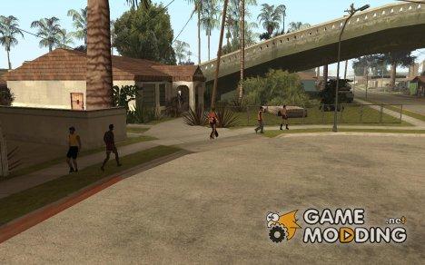 Побольше людей в San Andreas for GTA San Andreas