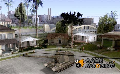 Мста-С, 152-мм самоходная артиллерийская установка 2С19 Зимний вариант for GTA San Andreas