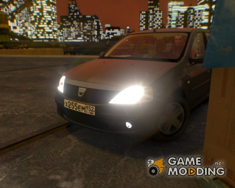 Dacia Logan 2008 for GTA 4