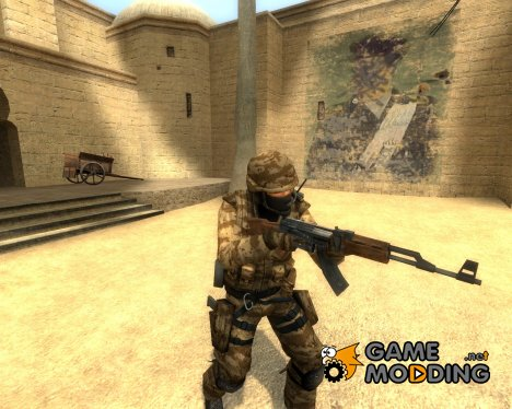 Desert Camo Urban for Counter-Strike Source