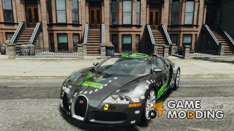 Bugatti Veyron 16.4 v1.0 new skin for GTA 4