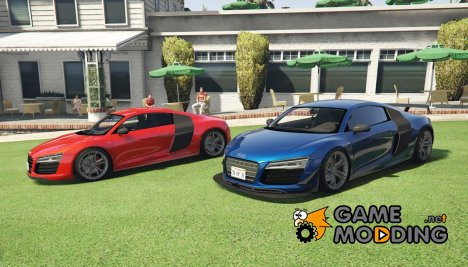 Audi R8 5.2 FSI V10 Plus Quattro S Tronic for GTA 5