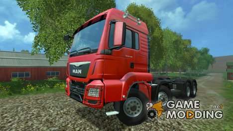 MAN TGS 8x8 v1.0 for Farming Simulator 2015