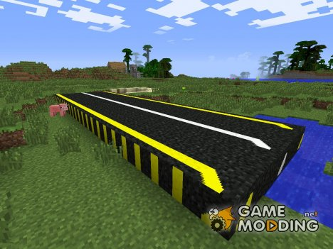 Road Mod for Minecraft