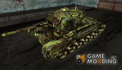 M26 Pershing mozart222 for World of Tanks