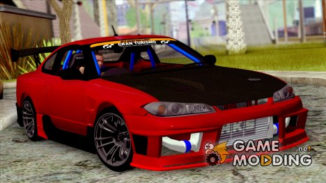 Nissan Silvia S15 D-Max Kit for GTA San Andreas
