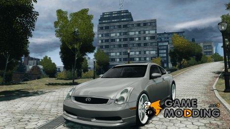 Infiniti G35 v1.0 for GTA 4