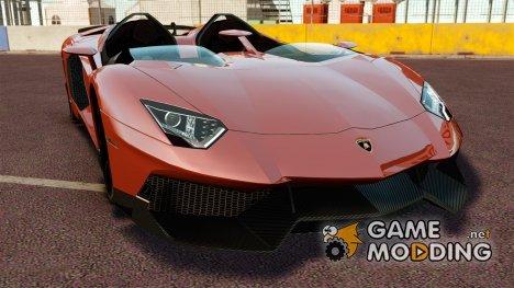 Lamborghini Aventador J [RIV] for GTA 4