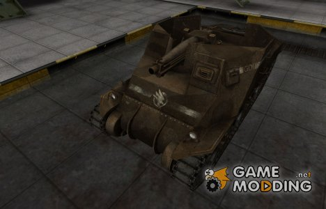 Скин в стиле C&C GDI для T40 для World of Tanks