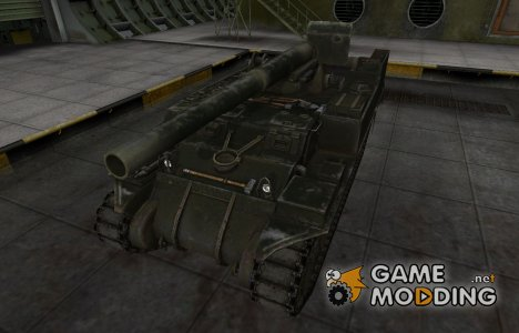 Шкурка для американского танка M12 для World of Tanks