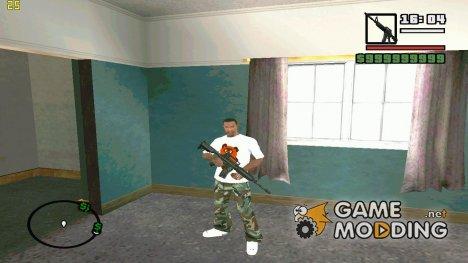 Пак Русского Оружия v2 для GTA San Andreas