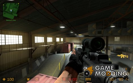 Turbo X-M4A1 for Counter-Strike Source