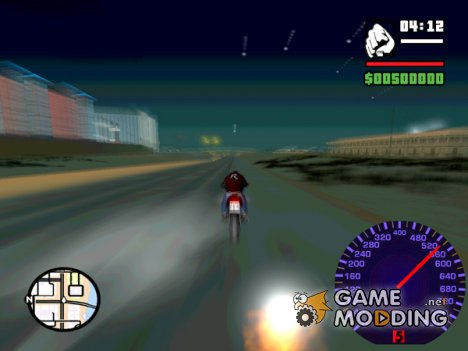 High Speed Tacho High Speedometer для GTA San Andreas