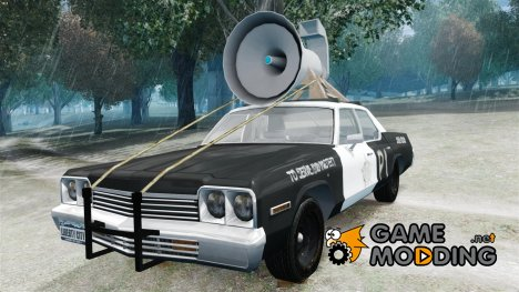 Dodge Monaco 1974 (bluesmobile) для GTA 4