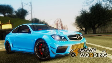 Mercedes-Benz C 63 AMG Black Series v.2 для GTA San Andreas