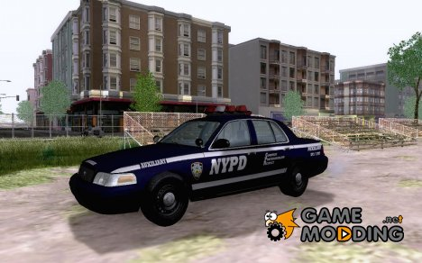 NYPD Auxiliary Ford Crown Victoria для GTA San Andreas