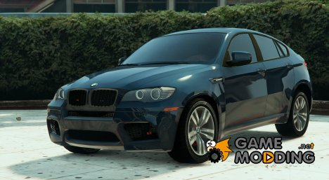 BMW X6M F16 Unmarked для GTA 5